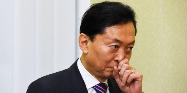 RUSSIA, KRYM - MARCH 11: Former Japanese Prime Minister Yukio Hatoyama visits Crimean Federal District...