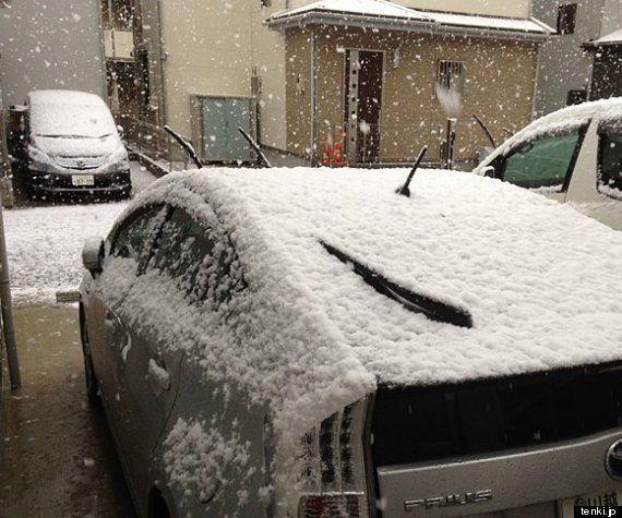 関東 帰宅時間帯の雪は(望月圭子)