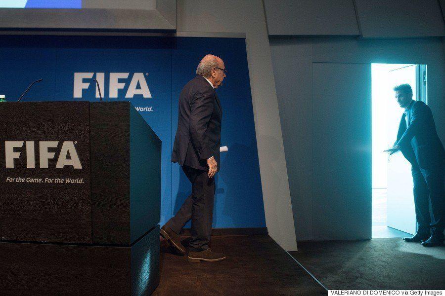 FIFA会長の座を追われたブラッター氏の去り際(画像)
