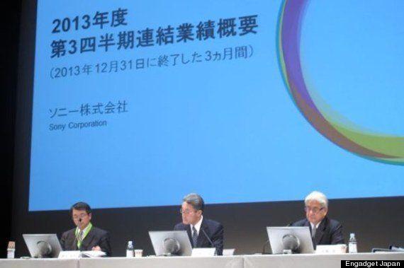 ソニー平井社長、VAIO事業の売却やテレビ子会社化など合理化を説明