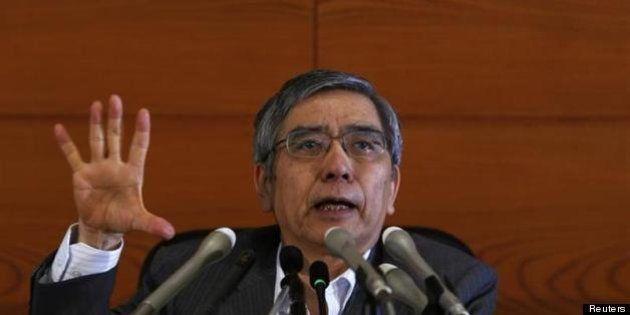 黒田東彦日銀総裁「消費税率の引き上げでも成長は大きく損なわれず」