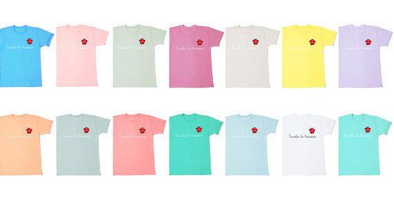 販売開始1日で売上1000枚を突破したチャリティーTシャツ