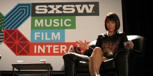 AUSTIN, TX - MARCH 14: Wanelo founder and CEO Deena Varshavskaya speaks onstage at 'From Siberia to Millions...
