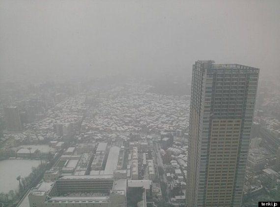 関東の雪、明日9日朝まで続く