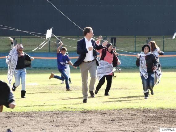 ガザの子供たちが、釜石でたこ揚げした理由