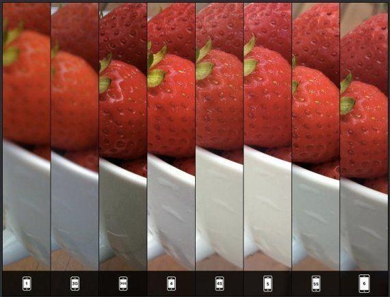 iPhoneカメラの世代別比較、これはわかりやすい!