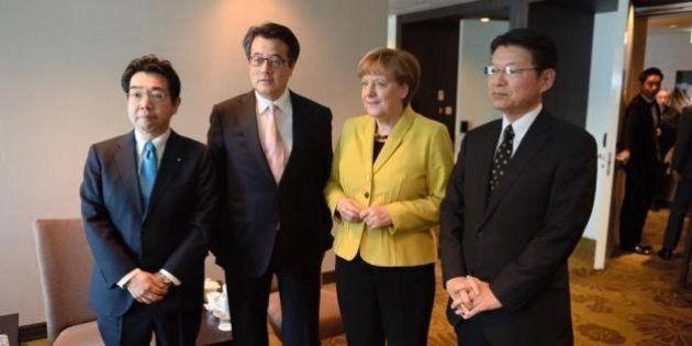 岡田克也氏、メルケル首相の慰安婦発言「日本政府に、とは言ってない」