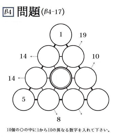 三角パズルに挑戦! 第39回