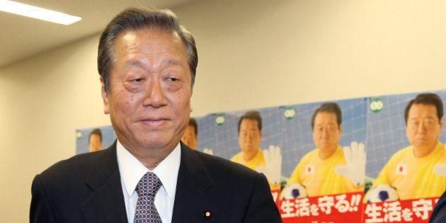 小沢一郎氏、脱原発「一本化したら勝てた」【都知事選】