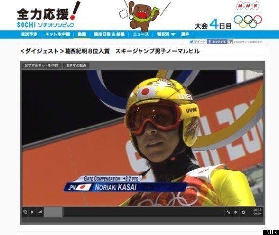 ソチ冬季オリンピック2014をネットで見るならNHKか?GORIN.JP(民放)か?