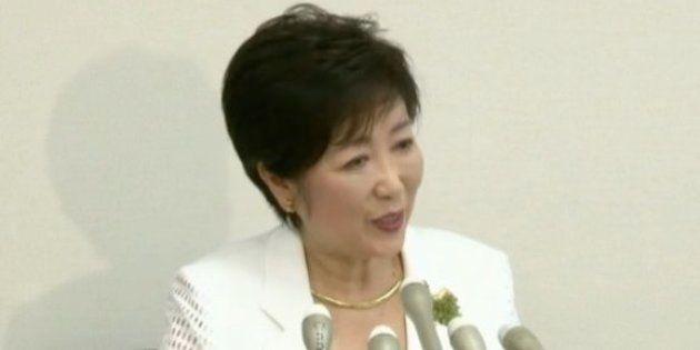 小池百合子氏が都知事選への出馬表明「飲食代は自腹、やせ我慢でいく」