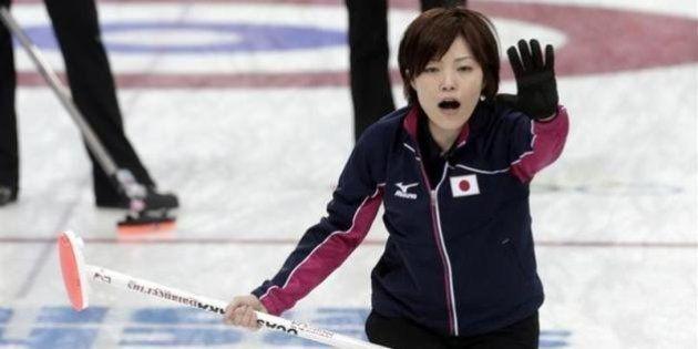 カーリング女子、日本がロシア破り2勝目【ソチオリンピック】