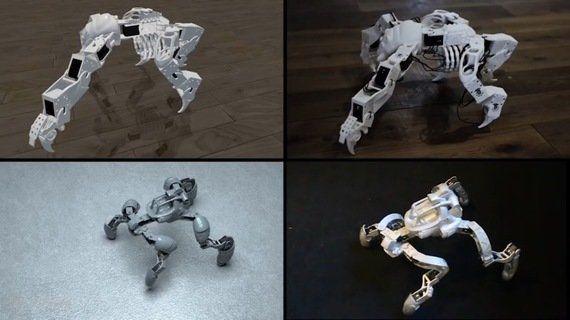 ディズニーが誰でも簡単にロボットの設計ができるツールを開発 3Dプリンタで出力も可能