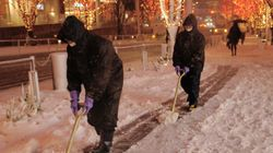 大雪、関東甲信で観測史上1位を記録