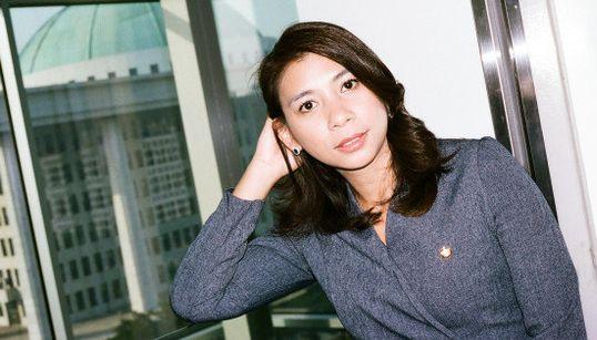 フィリピン出身の韓国国会議員・李ジャスミンさん
