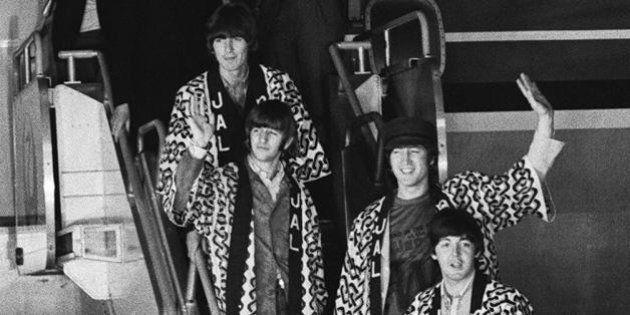 ビートルズ来日から50年。「名誉と財力のほかに欲しいものは?」と聞かれた4人は...【画像集】
