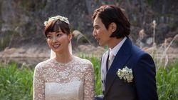 「韓流四天王」ウォン・ビン、幸せいっぱい極秘結婚式(写真)