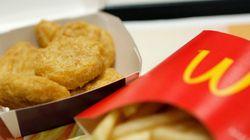マクドナルド、抗生物質を使った鶏肉の使用を中止へ