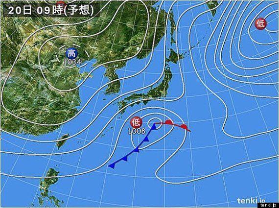 明日19日以降の太平洋側の雪、降る量は少なめに(榊原淳子)