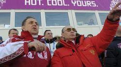 プーチン大統領、ソチ五輪を積極的に観戦