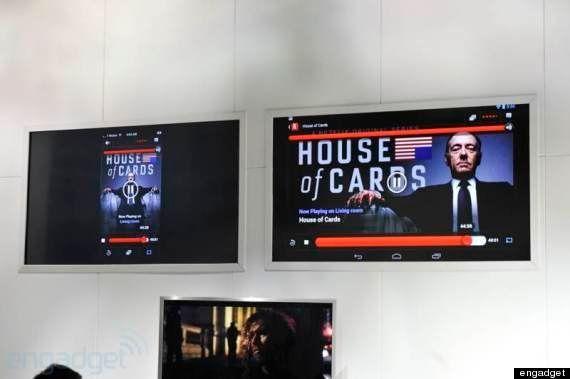 Google、テレビでクラウドを楽しむChromecast