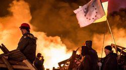 ウクライナの反政府デモで21人死亡