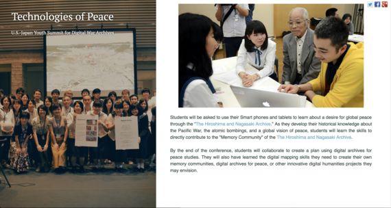 進捗報告:「日米・高校生平和会議