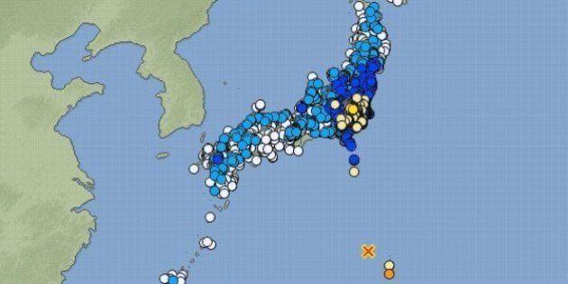 【地震情報】小笠原や神奈川県東部で震度5強、埼玉県で震度5弱