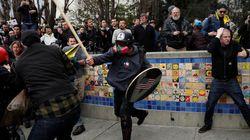 トランプ支持者がアメリカ各地で集会 暴徒化して殴り合い発生【動画】