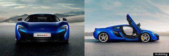 マクラーレン、新型スーパーカー「650S」の画像と概要を発表!