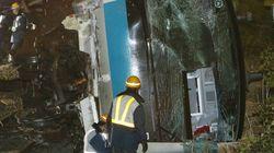 京浜東北線の脱線事故、工事車両運転手「時間を間違えた」