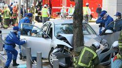 名古屋駅の暴走車事件、13人重軽傷 運転の男逮捕「わざと」