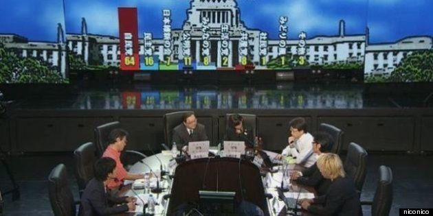 ニコニコ動画の参院選「当確予測」が的中率97.52%