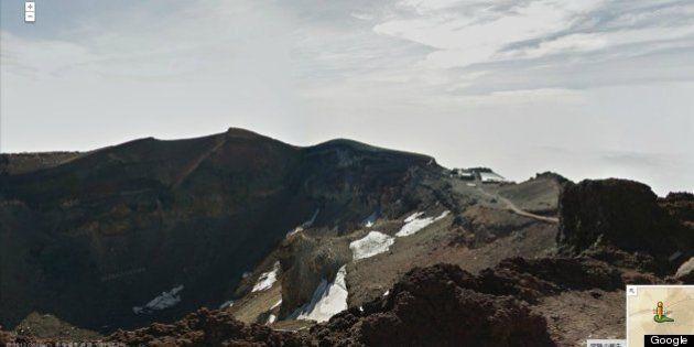 富士山がGoogle