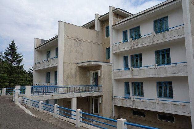 メンバーが住むアパート