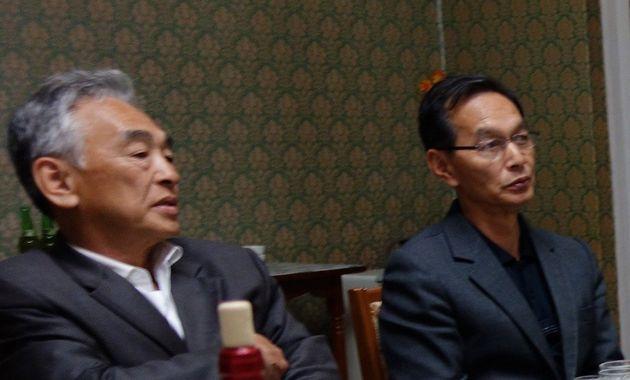 小西隆裕容疑者(左)と赤木志郎容疑者