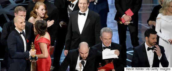 アカデミー賞で発表ミスした担当者、授賞式から永久追放に