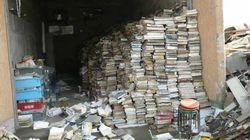 「高所へ逃げろ」と書かれた陸前高田市立図書館の本がたどった運命