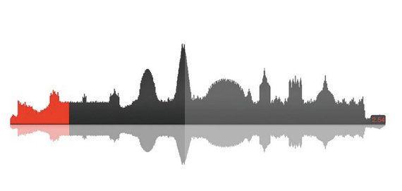 音楽でロンドンの街を描く!斬新なプロモーション用ミュージックを発見