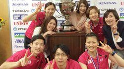 日本バドミントン界の歴史的快挙を、トマスカップを目の前に実感