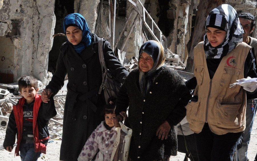 シリア難民の現実がこの一枚の写真に描かれている