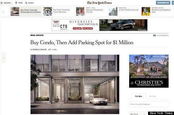 駐車場代だけでも1億円かかる超豪華マンションがマンハッタンに建設中