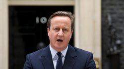 キャメロン首相が辞意表明