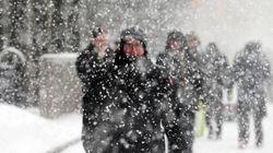 2日午後 関東甲信の内陸 大雪の恐れ