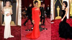 アカデミー賞:レッドカーペットの美しいドレス【写真】
