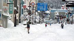 関東甲信 山沿いで積雪増加