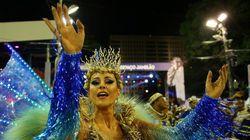 リオのカーニバル、2017年も最高潮 精鋭サンバチームが華麗に舞う(画像集)
