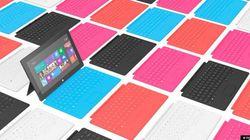 マイクロソフト、タブレット「Surface