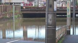 広島市では土砂崩れ、福山市では住宅街で冠水 豪雨の影響各地で
