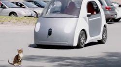 【動画】もしもGoogleの自動運転車に